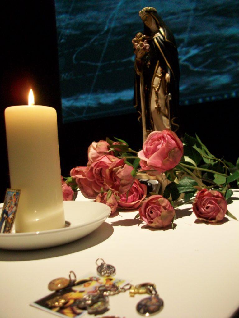 Fig 5 Brian Mackern Santa Rosa altar at FACT